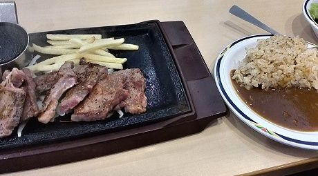 ステーキガストの熟成カットステーキ