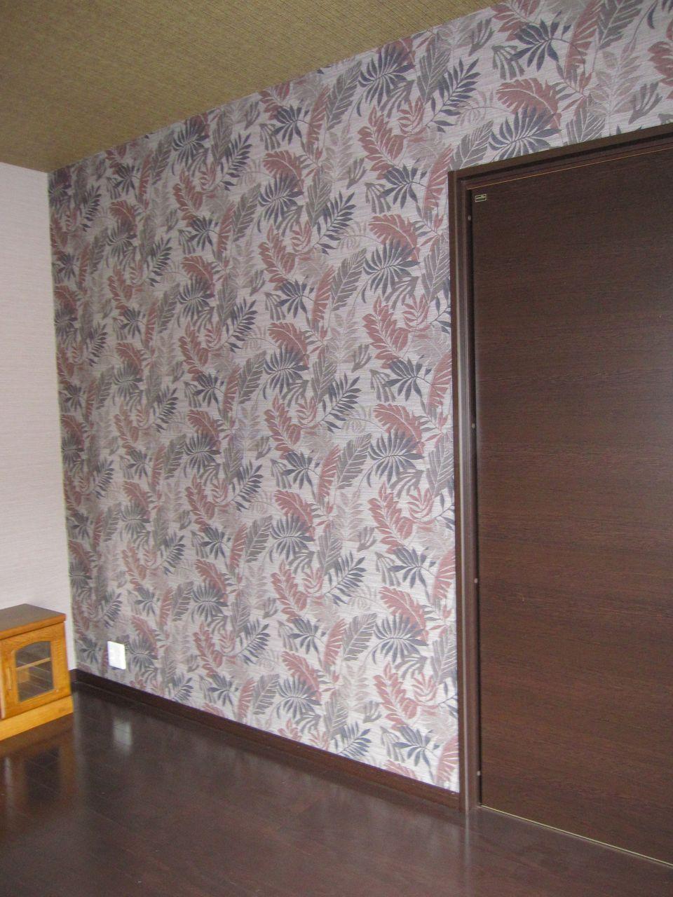 お部屋にアクセント壁紙 インテリア館セレス のブログ