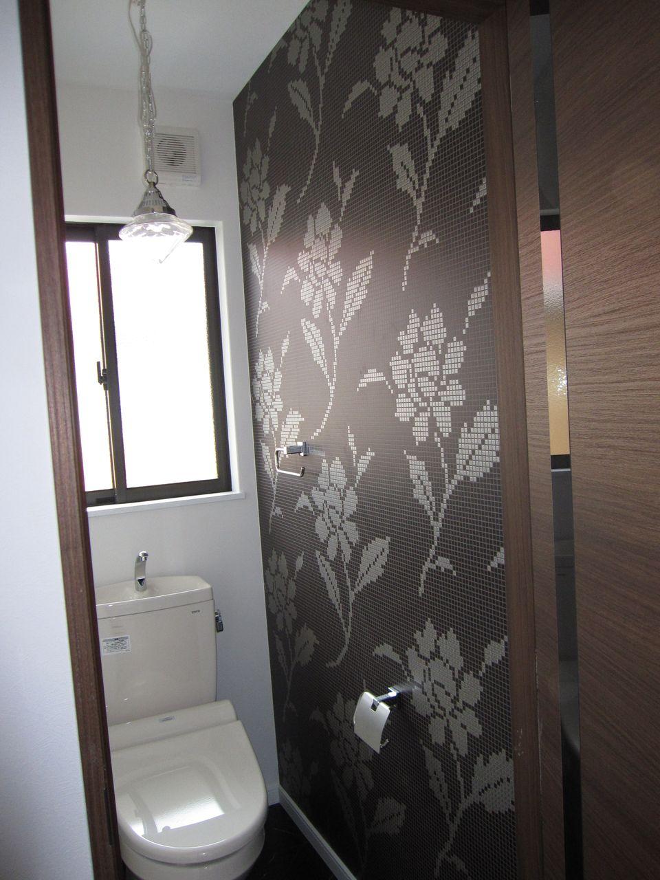 トイレの壁紙選び