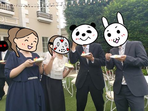 結婚式に行ってきた④7