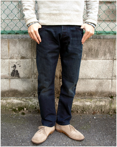 RUGBY VINTAGE SLIM DENIM パンツ