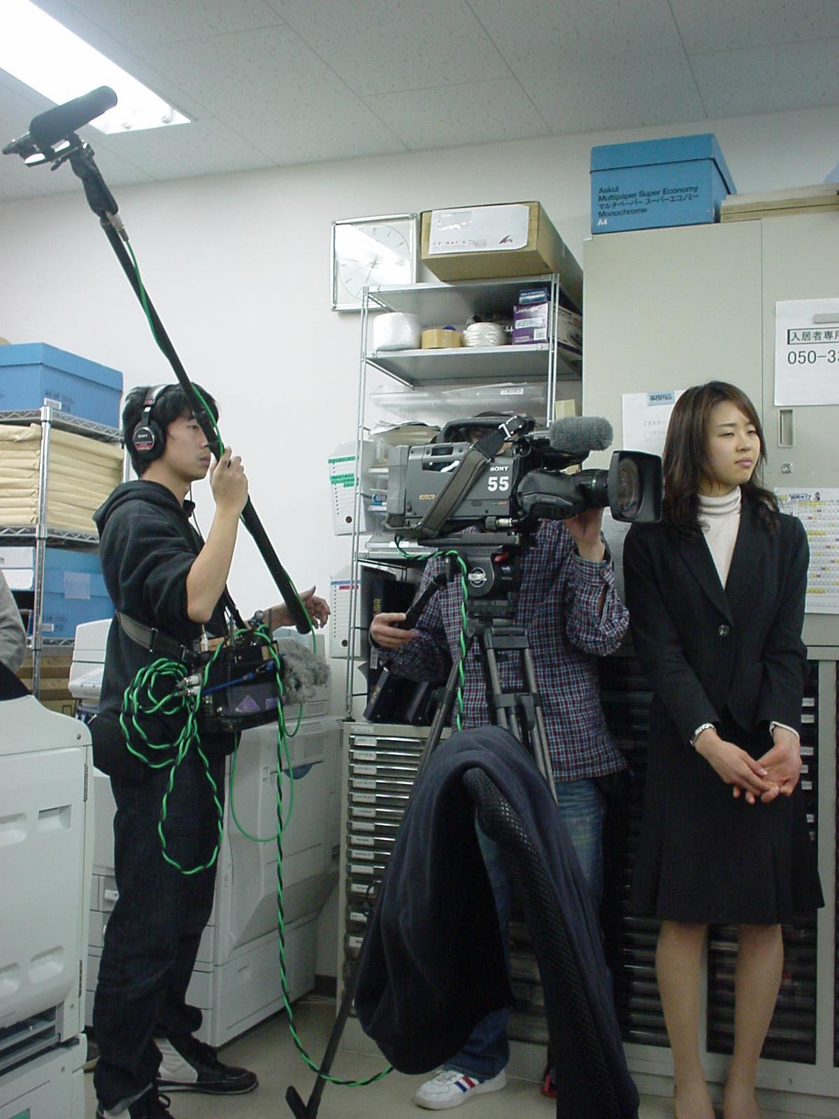 TV取材班がやって来た! : 藤原浩行の「ネット de 不動産コンサル」