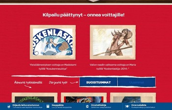 フィンランドの国民的人気チーズのイラストコンテスト優勝作がイカ娘だった件