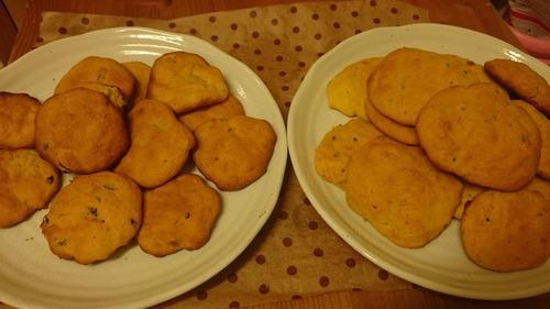 カボチャのクッキー作るよ