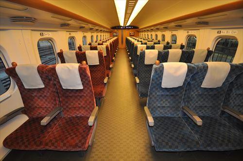 新幹線って指定席一択だよな?