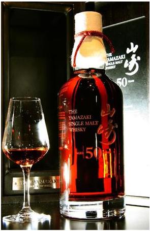 一本100万円のウイスキー「山崎50年」をサントリーが発売