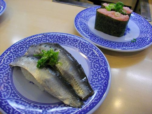 くら寿司とはま寿司で働いた