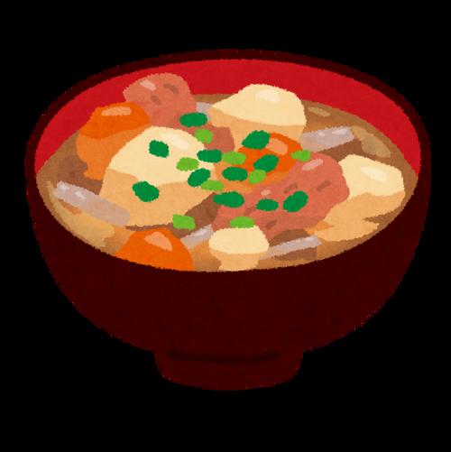 【募集】豚汁がメインの夕食で豚汁に合うサイドメニュー