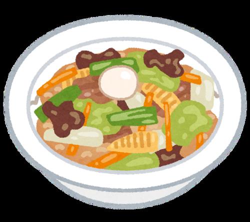中華丼とかいう中国には絶対なさそうな料理wwww