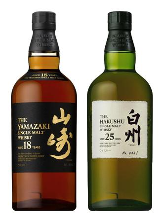 【ウイスキー】 サントリーのシングルモルト「山崎」と「白州」が断トツで世界最高に選ばれる