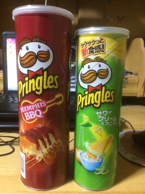 海外の友人「なぜ日本のプリングルズはこんなに小さいんだい?」