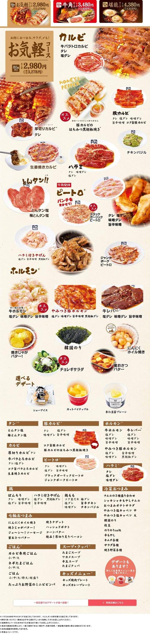 一人焼き肉でアルコール飲まないのに6000円くらいいくんだが