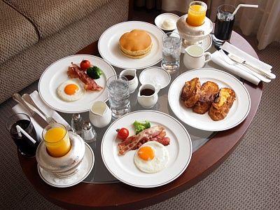 帝国ホテルの朝食wwwwwwwwwwwww