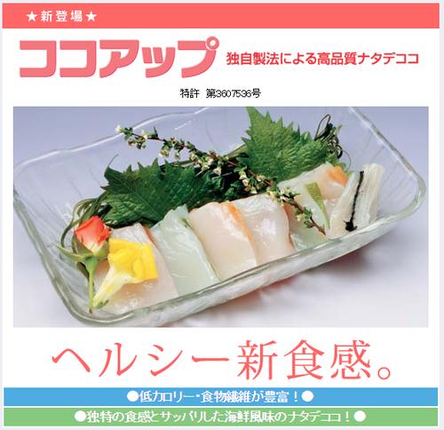 ココアップ_イカ代用食品_ナタデココ