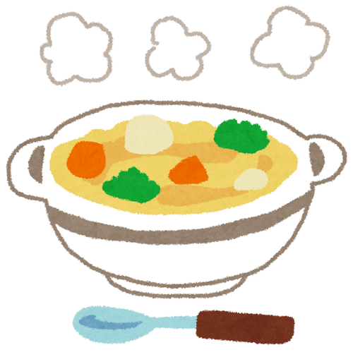 シチューをご飯にかける はい42% 分ける58% かける派「一枚の皿で済む」分ける派「シチューはおかず」