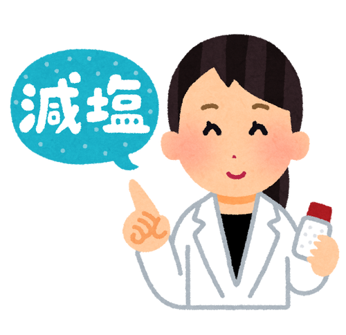 WHO「一日に摂る塩分は5g以下やないとやばいで!」日本人「ほーん(1日11g摂取)」