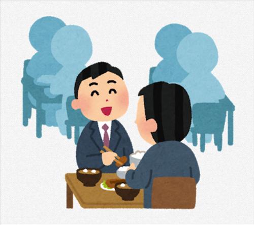 なあ、社内食堂付きの会社に勤めてんのに休憩中に外食いく同僚どう思う?