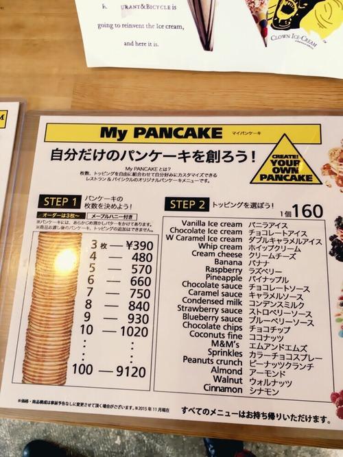 パンケーキたべるぞーーーーー!!!!!!!!!!