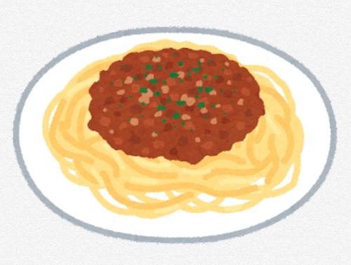昔はスパゲッティのことパスタとか呼ばずにスパゲッティて呼んでたよな