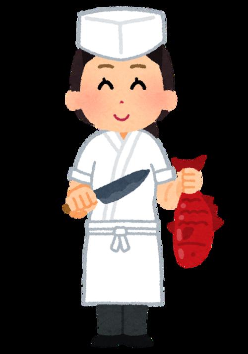 この寿司職人どう思う?