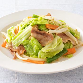 独身男性が家で作る料理 1位「野菜炒め」
