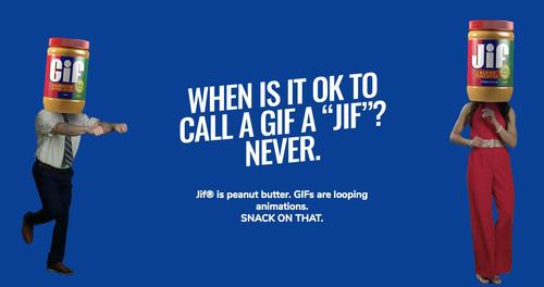 「GIFをジフと呼ばないで」ピーナツバターメーカー「Jif」が警告