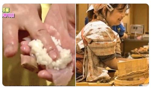 女性が寿司を握るのには異論はないけど指に絆創膏巻いてると言うのは調理人として失格じゃね?