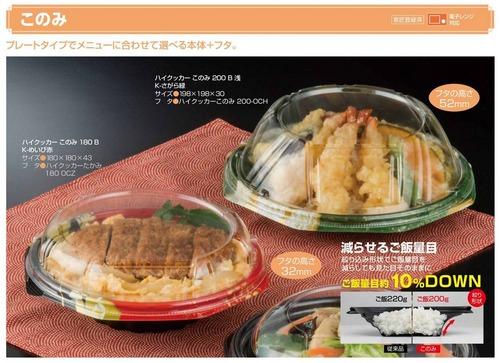 食品容器会社「ボリューム感をキープしながら容量削減できる容器販売中」これが今の日本