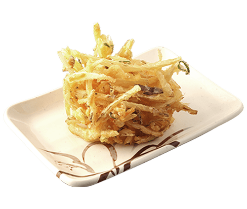 彡(^)(^)「丸亀製麺のかき揚げデッカ!これで130円は安いな、食ったろ!」