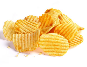 【研究】ポテトチップスを毎日食べる人は体重の増加が激しいと判明-米ハーバード大