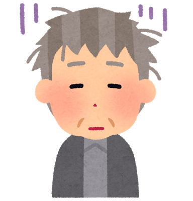 親父が飯を食わない