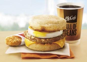アメリカのマクドナルド、朝食メニューの終日提供で集客に成功