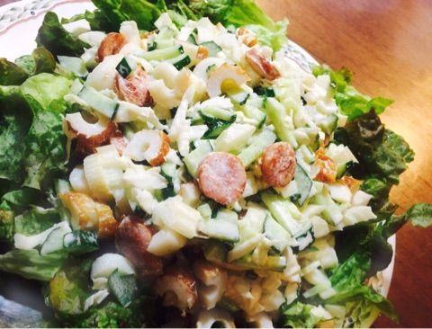 サラダにちくわ入れるやつwwwwwwwwwwww
