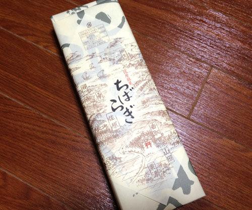 【ちばらき】千葉と茨城の境には菓子「ちばらぎ」があるらしい