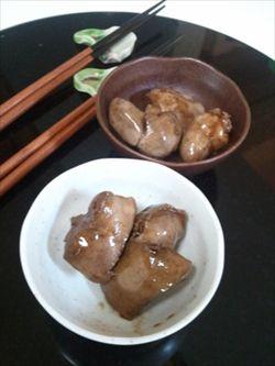 味付けした鶏レバーをお湯に放り込んで放置するとふわトロになってめちゃくちゃ美味しい