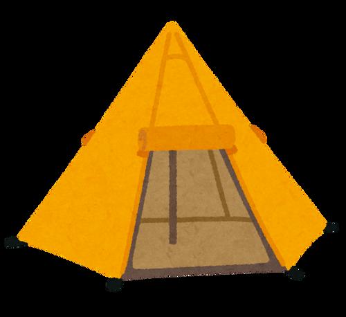 土地買ってそこでテント張って暮らすのってありなんか?