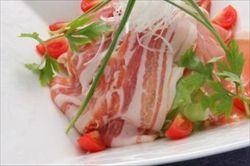 生ハム・生ベーコンの料理
