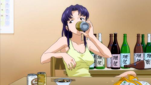 日本酒と言えば「獺祭(だっさい)」だよな エヴァのミサトさんも飲んでたし