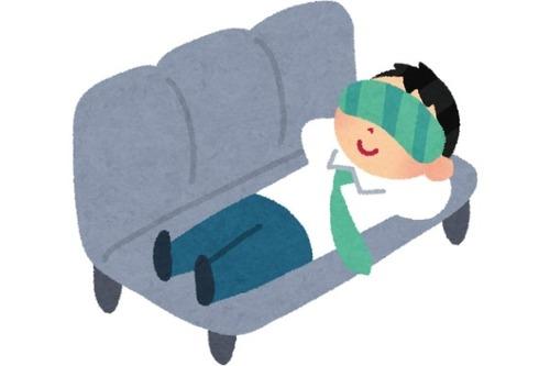食後ワイ「アカン…起きてられん」コクッ←1時間弱睡眠