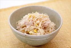 米の消費を減らしたい米食い星人が考えたもやしとえのきの炊き込みご飯