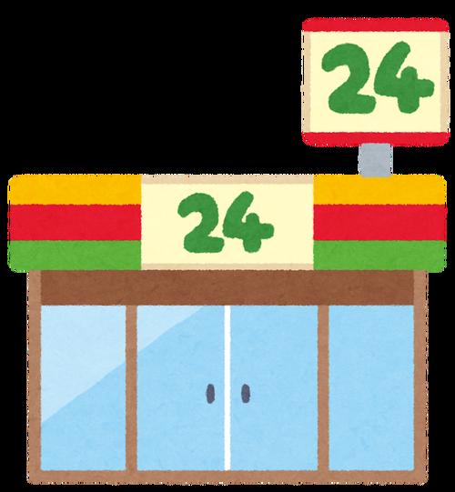 土方「スーパーとコンビニがあるな…コンビニで弁当とコーヒー買お!」