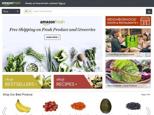 アマゾンの生鮮食品デリバリーサービスが始まるかも 便利?怖い?
