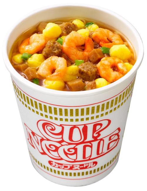 【悲報】カップ麺界、未だにカップヌードル一強