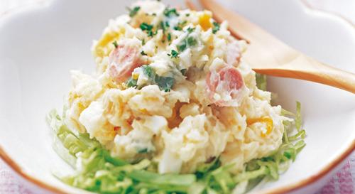 ポテトサラダ「ワイはサラダやで!」 彡(゚)(゚)「そうなんか」モグモグ