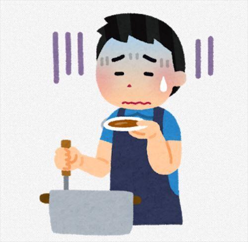 料理が下手な人の特徴