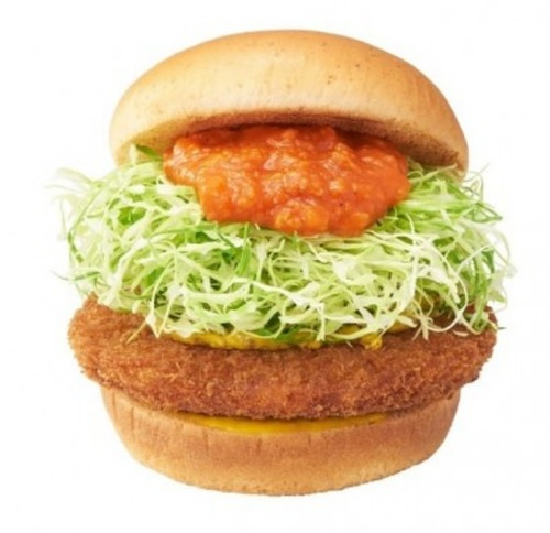【朗報】モスバーガー、学生限定にボリューム満点「部カツバーガー」を250円で販売!