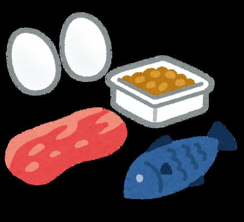 タンパク質って肉・魚・卵・豆なんかから摂取出来るけど、どれで摂っても同じなんか?