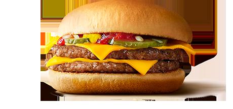 チーズバーガー1個130円 ←分かる ダブルチーズバーガー1個320円 ←