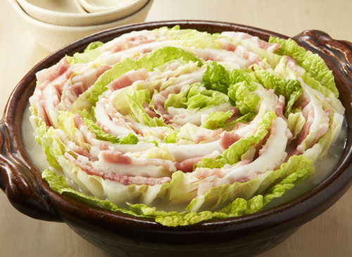 豚バラ肉と白菜のミルフィーユ鍋wwwwwwwwwwwwwwwww