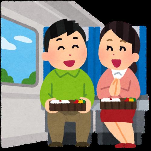 新幹線で飯食ってたら注意されてワロタ